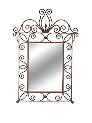 Uptown Down Previously Owned Wrought Iron Framed Mirror