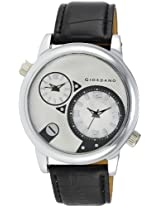 Giordano Analog White Dial Men's Watch - 60058 (P10498)
