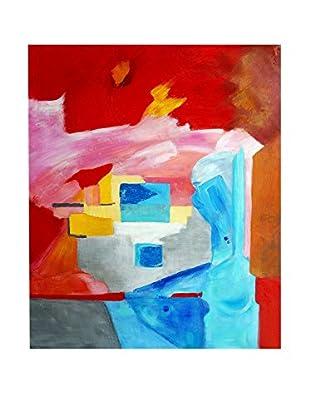 Legendarte Pintura al Óleo sobre Linezo Entrata Accogliente