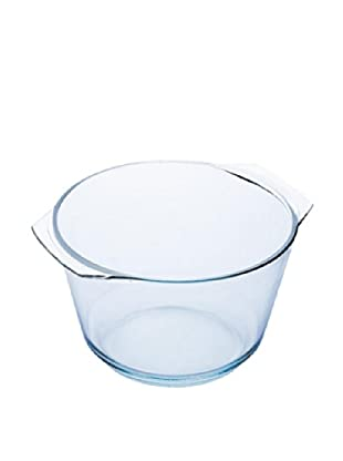 Blaumann Bol Alto De Cristal Templado. Capacidad: 2,5 L. Tamaño: 26 X 14,8 Cm.