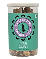 Nutty Gritties Pepper Cashews - 180g