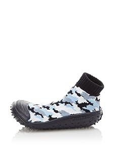 Skidders Kid's Camouflage Shoe Socks (Navy)