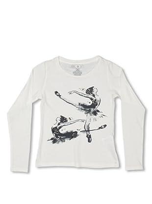 CKS Kids GIRLS Camiseta Ginkgo (Blanco)