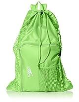 Speedo Deluxe Ventilator Mesh Equipment Bag, Jasmine Green