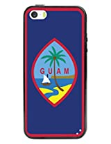 Cellet Guam Flag TPU / PC Proguard Case for Apple iPhone 5 & 5s - Non-Retail Packaging