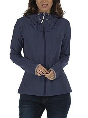 Bench Damen Jacke DETECTIVE, Gr. 40 (Herstellergröße: L), Blau (Deep Cobalt BL085)