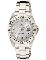 Maxima Analog White Dial Men's Watch - 39314CMGI
