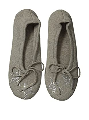 a & R Cashmere Star Crystals Slipper, Sand