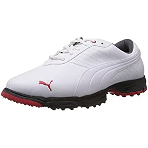 Puma Amp Scramble XW Men's Golf Shoes - White