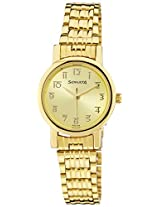 Sonata Analog Gold Dial Women's Watch - NF8976YM06J