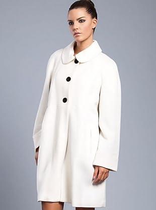 Cortefiel Mantel Baby Doll (Weiß)