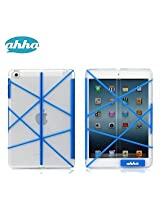 Ahha Azzaro Tangram Flip Folder Case Cover for Apple iPad Mini / iPad Mini Retina Display - Cobalt Blue (A-FPAPIDMR-TA23)