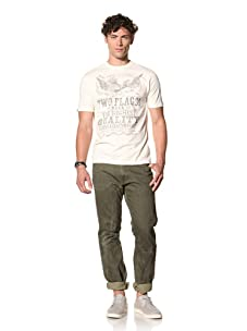 Under 2 Flags Men's Wanted Tee (Antique White)