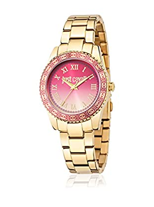 Just Cavalli Quarzuhr Woman Just Sunset goldfarben/rosa 42.4x36 mm