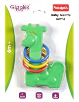 Funskool Baby Giraffe Rattle, Colors May Vary