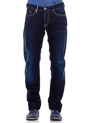 Guess Pantalón Recto (Azul Oscuro)