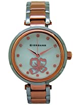 Giordano Analog Mother of Pearl Dial Women's Watch - A2008-44