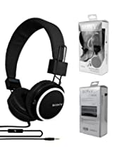 Sony XB338 candy headphones headphones Sony style headphones With MIC- Black