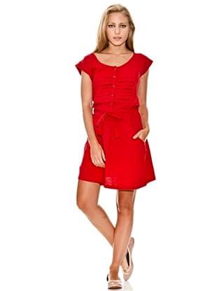 Springfield Vestido Jaretas (Rojo)