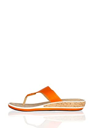 Rockport Sandalias Esclavas Jaque (Naranja)