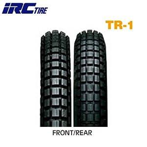 【クリックで詳細表示】IRC(アイアールシー)井上ゴムバイクタイヤ TR-1 前後輪共用 2.50-17 38L チューブタイプ(WT) 10132T 二輪 オートバイ用