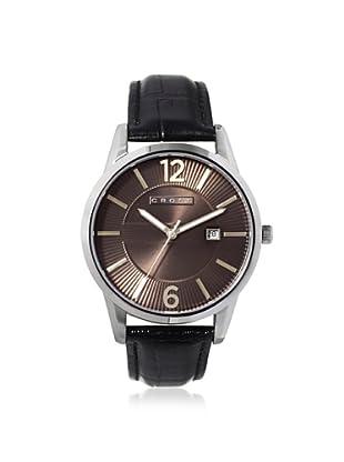 Cross Men's CR8002-03 Gotham Round Black Stainless Steel Watch
