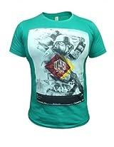 VSquared green Round Neck Tshirt