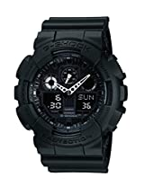 Casio G-Shock Analog-Digital Black Dial Men's Watch - GA-100-1A1DR (G270)
