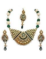 Austrian Diamond Necklace Set By Surat Diamond