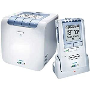 Philips Avent Baby Monitor with Temperature and Humidity Sensors and New Eco Mode