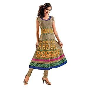 Ishin Beige Embroidered Women Kurti ASHR Tanya