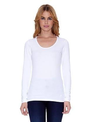 Salsa Camiseta Leblon Slim (Blanco)
