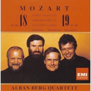 モーツァルト:弦楽四重奏曲第18番&第19番