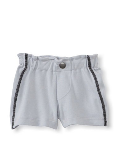 LA Lounge Boy's Cotton Jersey Shorts (Elephant Grey)