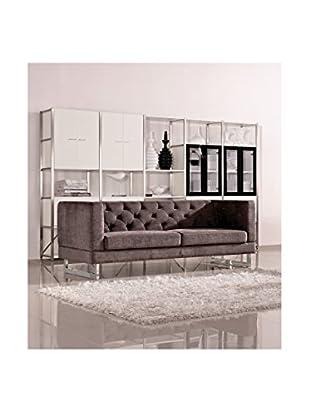 DG Casa Palomar Sofa, Dark Raisin Gray