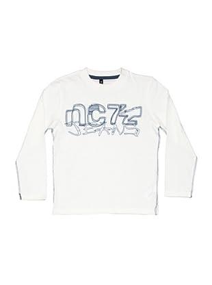 New Caro Camiseta Scribble (crema de nube)