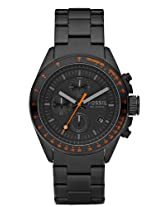 Fossil Decker Chronograph Black Dial Men's Watch - CH2737