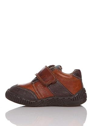 Billowy Zapatos Sport Velcro (Teja)