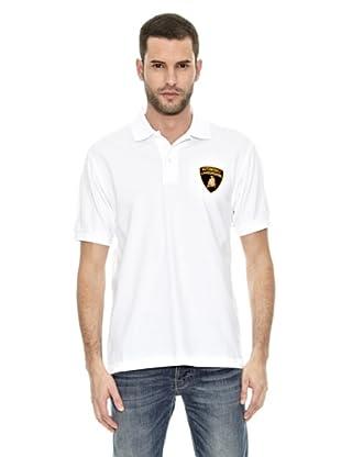 Lamborghini Polo shirt Polo (Blanco)