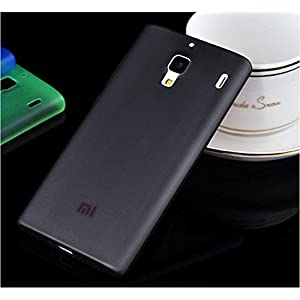 TCA 0.3mm Ultrathin Polycarbonate Frosted Matte Case for Xiaomi Redmi 1S - Black