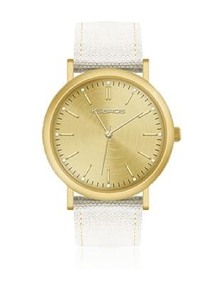 K&BROS Reloj 9490 (Blanco)