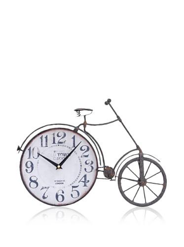 Industrial Chic Vintage-Style Bicycle Clock