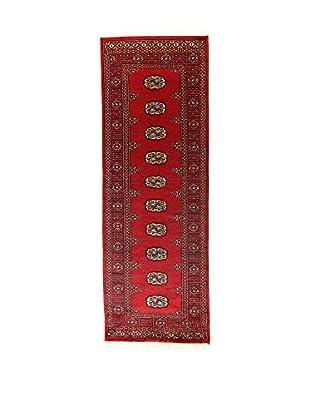 L'Eden del Tappeto Teppich Kashmirian rot 217t x t75 cm