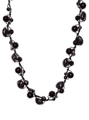 Sándalo Collar Pepa (Negro)