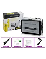 Gadget Hero's EZCAP Walkman Audio Cassette Tape Player to MP3 Converter Via PC