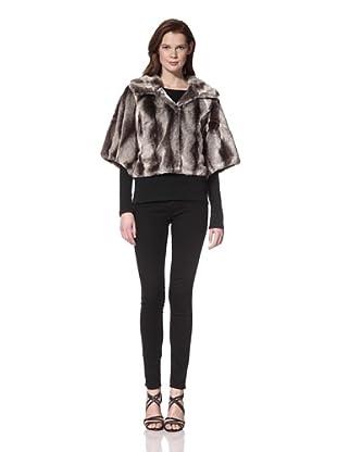 525 America Women's Faux Chinchilla Jacket (Grey)