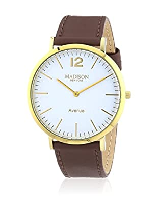 Madison New York Reloj de cuarzo Unisex 42 mm