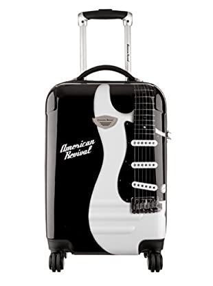 American Revival Trolley Guitare Mediano (Negro)