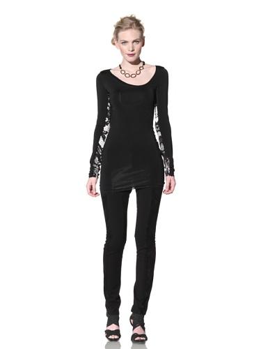 Just Cavalli Women's Contrast Tunic (Black)