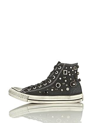 Converse Zapatillas All Star Hi Canvas Jewel Limited Edition (Negro)